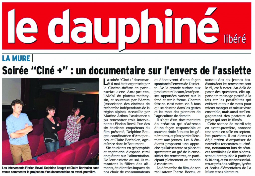 Article dl la mure